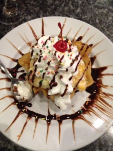 Fried Ice Cream Casa Tequila